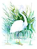 Heron 2 Reproduction d'art par Suren Nersisyan