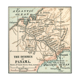 Map of Central Panama (C 1900)