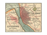 Map of Liverpool (C 1900)  Maps