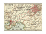Map of Athens (C 1900)  Maps