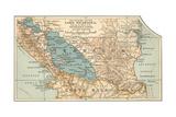 Map of Lake Nicaragua (C 1900)  Maps