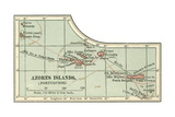 Inset Map of the Azores Islands (Portuguese)