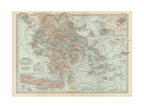 Plate 36 Map of Greece