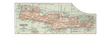 Plate 36 Inset Map of Crete (Candia) Greece