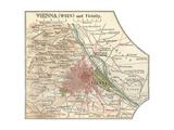 Map of Vienna (C 1900)  Maps