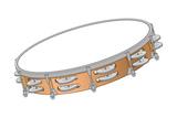 Tambourine  Percussion  Musical Instrument