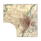 Map of St Louis (C 1900)  Maps