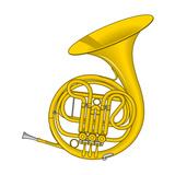 French Horn  Brass  Musical Instrument