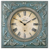 Canal St Martin Square Wall Clock