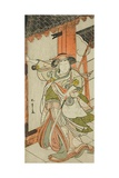 The Actor Nakamura Tomijuro I as Hangaku Gozen  Performed at the Nakamura Theater  C1777