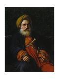 Portrait of the Katchef Dahouth  Christian Mameluke  1804