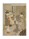 Returning Sails of the Towel Rack (Tenugui-Kake No Kihan)  C1766