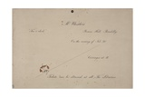 Invitation to Mr Whistler's Ten O'Clock  1885