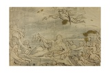 Study for Commerce or the Triumph of the Thames  1767-80
