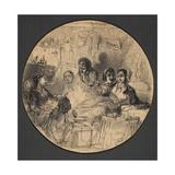 Scene from Bohemian Life  1855-57