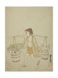 A Water Vendor  1765