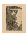 Bather (Evening) Iii  1896
