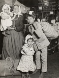 Italian Family Seeking Lost Baggage  Ellis Island  1905