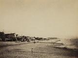 The Beach at Sainte-Adresse  1856-57