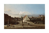 View of Pirna with the Fortress of Sonnenstein  1755-65