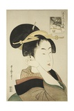 Tatsumi Roko  from the Series Renowned Beauties Likened to the Six Immortal Poets  C1794-96