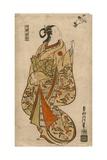 Courtesan Likened to the Chinese Sage Zhang Guolao (Japanese: Chokaro)  C1715