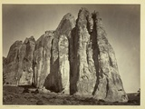 The South Side of Inscription Rock  1873