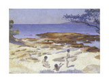 Beach at Cabasson (Baigne-Cul)  1891-92