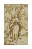 Saint Dominic Reading  C1575