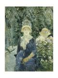Woman in a Garden  1882-83