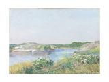 The Little Pond  Appledore  1890