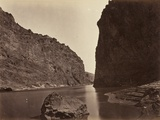 Black Cañon  Colorado River  Looking Below  Near Camp 7  1871