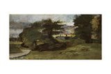 Landscape with Cottages  1809-10