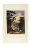 View Near the Schuylkill Falls  Pennsylvania  1819-21