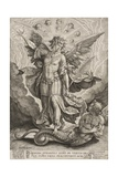 St Michael Triumphing over the Dragon  1584
