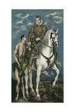 Saint Martin and the Beggar  1597-1600
