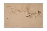 Girl Reading in Bed  C1882