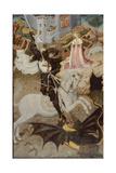 Saint George Killing the Dragon  1434-35