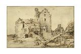 Kostverloren Castle in Decay  1652-57