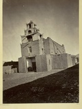 The Church of San Miguel  the Oldest in Santa Fe  NM  1873