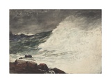 Prout's Neck  Breaking Wave  1887