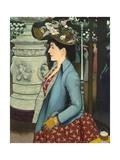 An Elegant Woman at the Élysée Montmartre (Élégante À L'Élysée Montmartre)  1888