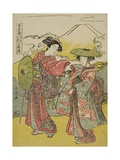 Act Eight: Bridal Journey from the Play Chushingura (Treasury of Loyal Retainers)  C1779-80