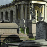 Brompton Cemetery  Kensington  London