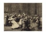 Dance at Insane Asylum  1907