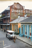 Louisiana  New Orleans  French Quarter  Dumaine Street  Historic Uneeda Biscuit Sign