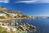 Beach Near Camps Bay in Cape Town  Western Cape  South Africa