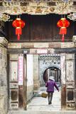 Tuanshan Historical Village, Yunnan, China Papier Photo par Nadia Isakova