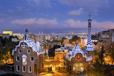 Spain  Catalonia  Barcelona  Park Guell  Listed as World Heritage by Unesco
