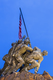 Time Lapse of the Statue of Iwo Jima U S Marine Corps Memorial at Arlington National Cemetery